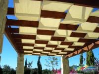 Waterproof Fabric Pergola Cover | Pergola Design Ideas