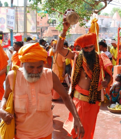 Sadhus in their own world