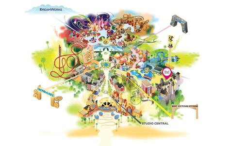 Hotel Transylvania, Thrilling Theme parks