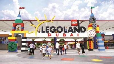 Legoland Dubai, Thrilling theme parks