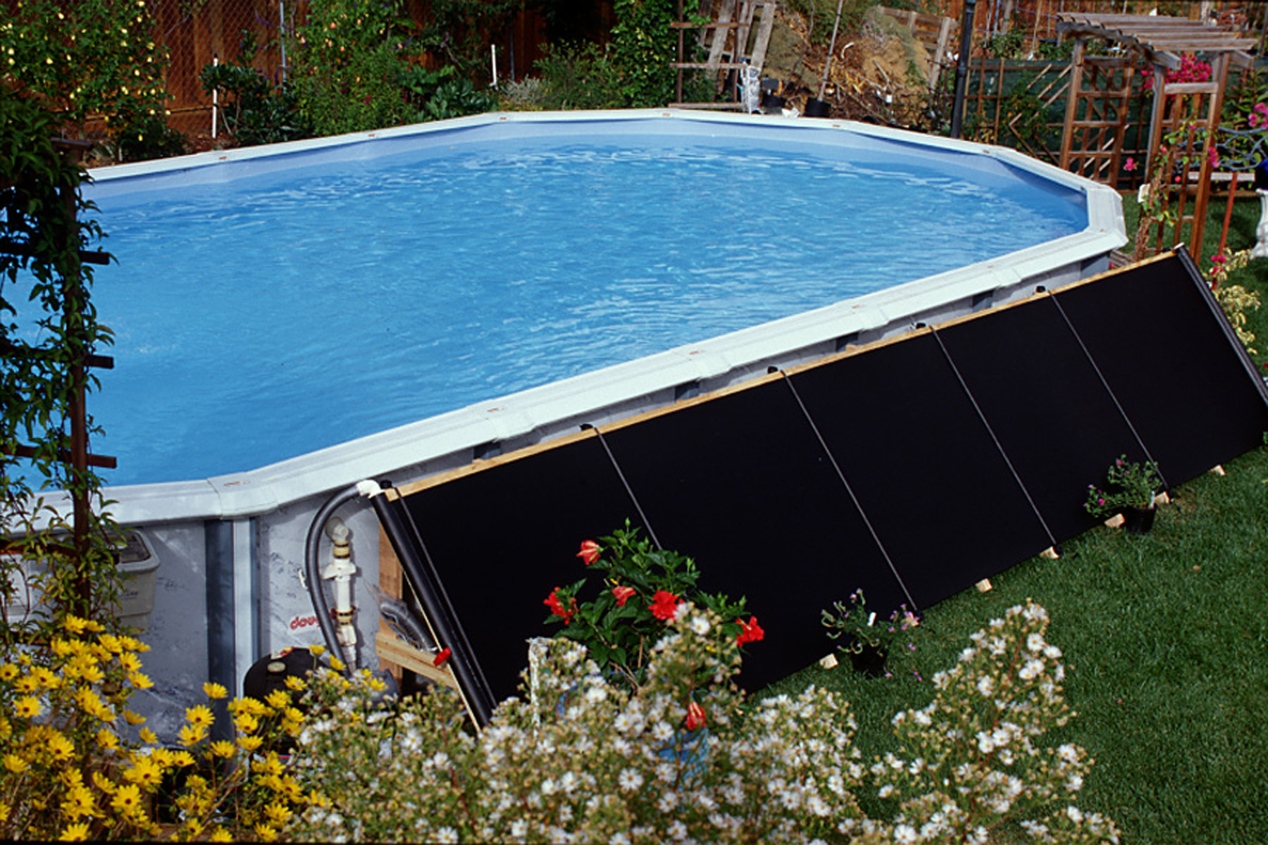 Solarheizung Pool Pumpe New Fafco Solar Swimming Pool Above Ground Solar Heating