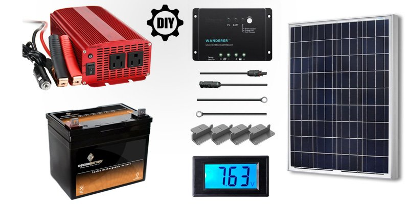 DIY Solar Generator - How to Make a DIY Solar Generator