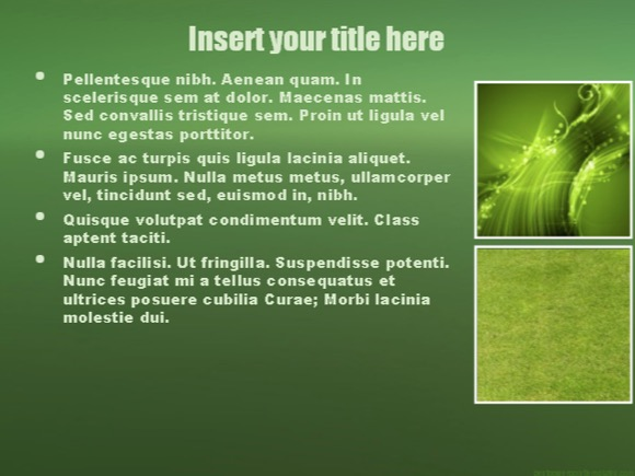 Plant Biology PowerPoint template - FREE!