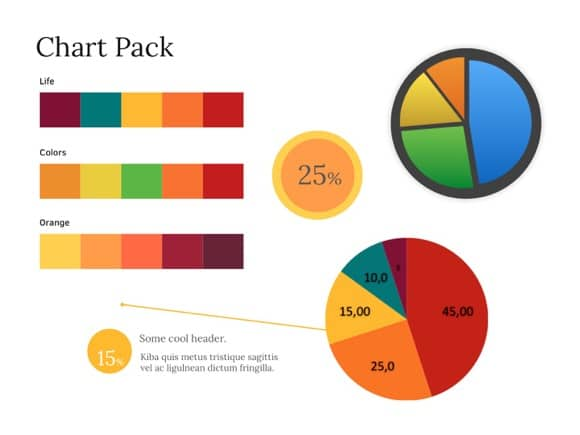 free pie chart powerpoint template