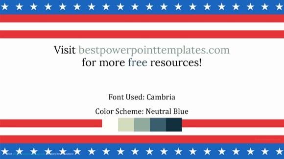 Beautiful Patriotic Powerpoint Template Free Ivoiregion