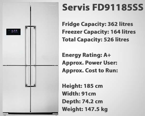 Servis FD91185SS Review
