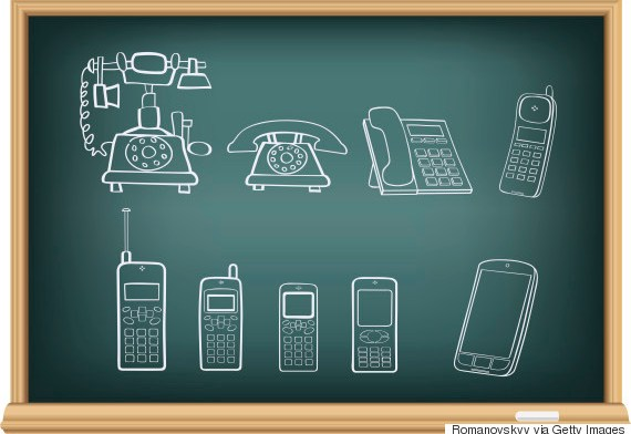 Evolution Of The Mobile Phone In Pictures