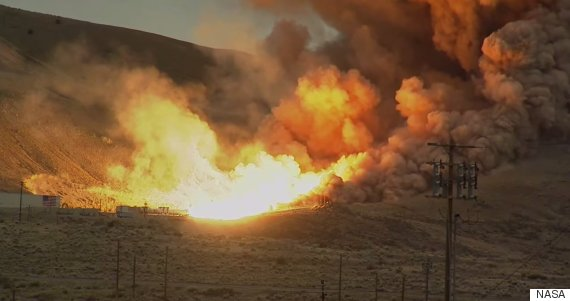 NASA Just Tested The Most Powerful Rocket Booster In History