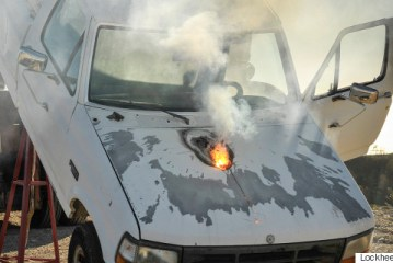 Lockheed Martin's Terrifying New Laser Can Melt The Engine Out Of A Truck