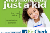 "KidCheck Children's Check-In ""Improving Child Safety in Children's…"