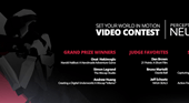"""Perception Neuron Announces Winners of """"Set Your World in Motion""""…"""