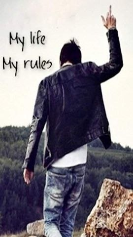 My Life My Rules My Attitude Wallpapers For Girls Attitude Best Profile Pictures Of Facebook