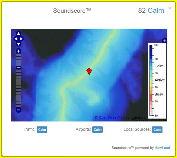 Sound map for home in Lake Norman