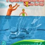 topnotch swimming pool games
