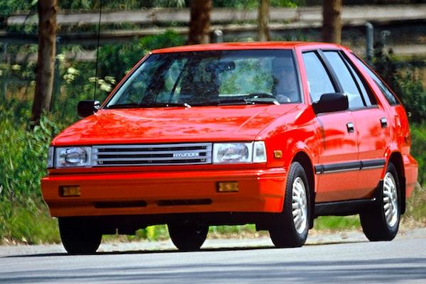 Hyundai Excel USA 1987