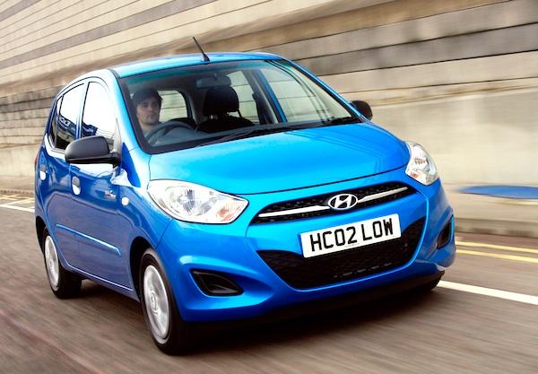 Hyundai i10 Mauritius 2012