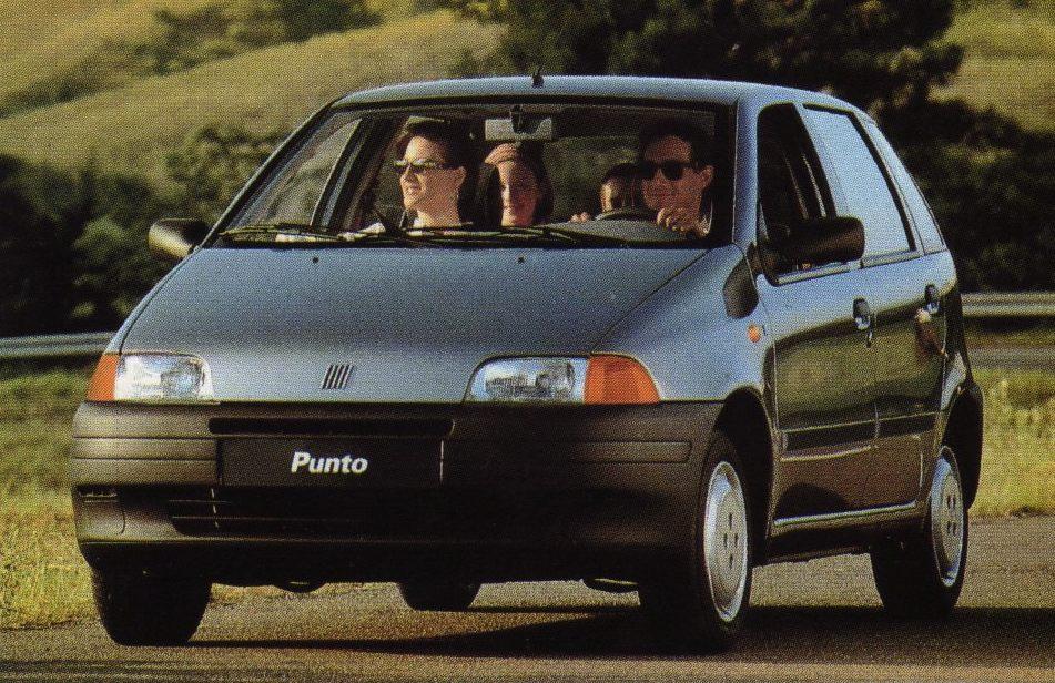 europe 1995 fiat punto interrupts 154 months of golf domination best selling cars blog. Black Bedroom Furniture Sets. Home Design Ideas