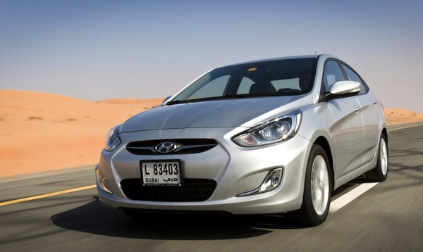Hyundai Accent Egypt June 2014