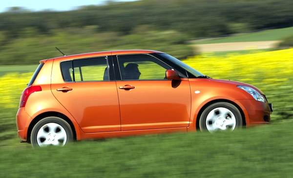 hungary 2005 suzuki swift starts with a bang best selling cars blog. Black Bedroom Furniture Sets. Home Design Ideas