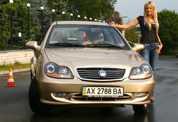 Geely CK Ukraine March 2012