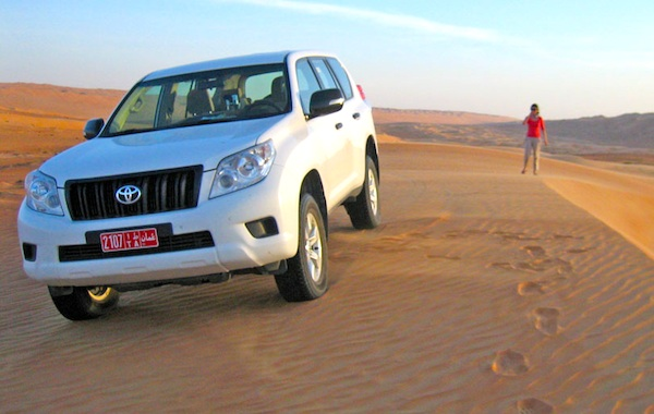 Toyota Prado Kuwait 2012