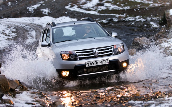 Renault Duster Russia October 2012