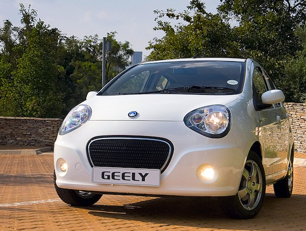 Geely LC New Zealand 2012