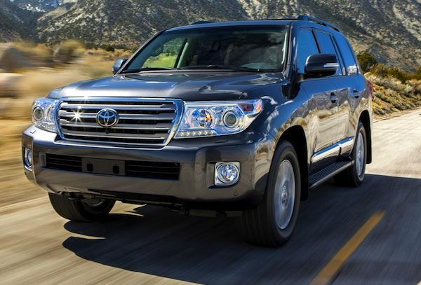 Toyota Land Cruiser Gulf 2012