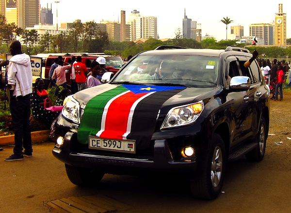 Toyota Land Cruiser South Sudan by Kohsah