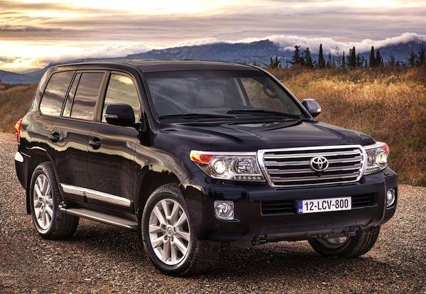 Toyota Land Cruiser UAE 2012