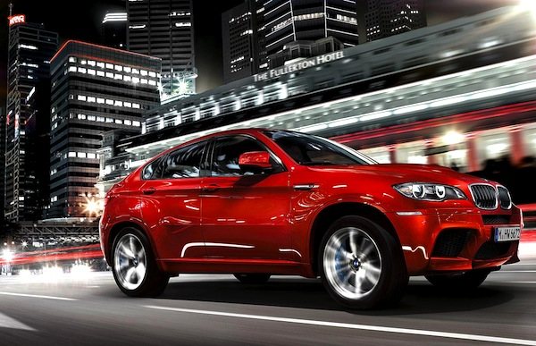 BMW X6 UAE January 2013