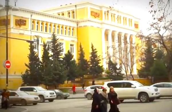 Baku Street Scene 2
