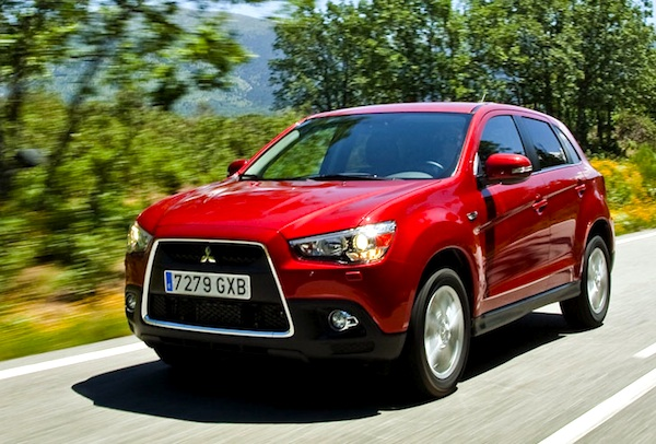 Mitsubishi ASX World 2012
