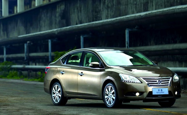 Nissan Sylphy China November 2014. Picture courtesy of autov.com.cn