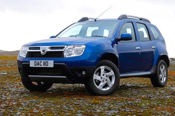 Dacia Duster Ireland March 2013