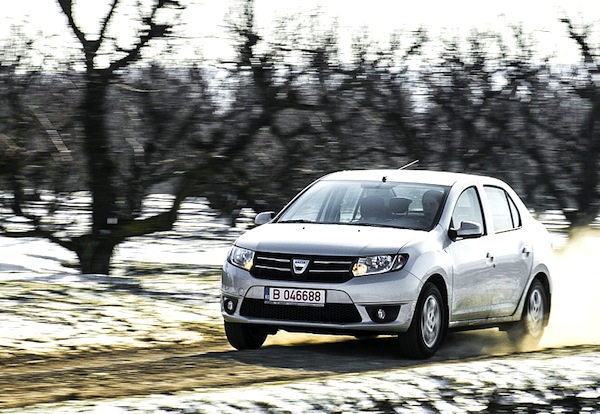 Dacia Logan Romania 2014. Picture courtesy of autoevolution.com