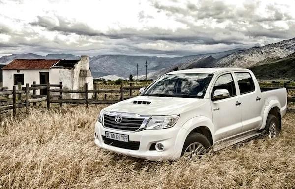 Toyota Hilux Argentina 2014. Picture courtesy of topcar.co.za