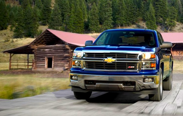 2014 Chevrolet Silverado USA June 2013. Picture courtesy of caranddriver.com