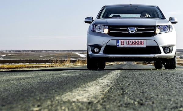 Dacia Logan Romania May 2014. Picture courtesy of autoevolution.com