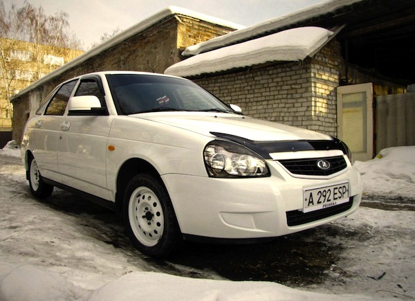 Lada Priora Kazakhstan October 2015. Picture courtesy of vse.kz