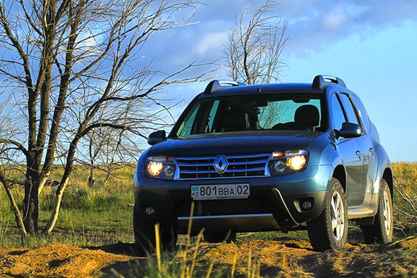 Renault Duster Kazakhstan March 2016. Picture courtesy of Illva Davidovich idphoto.kz