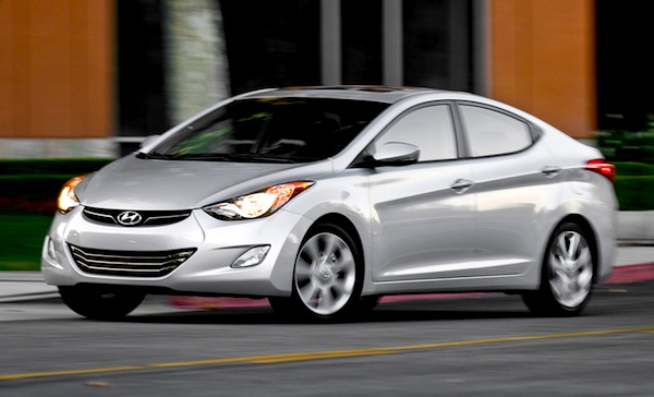 Hyundai Elantra Saudi Arabia January 2014. Picture courtesy of motortrend.com