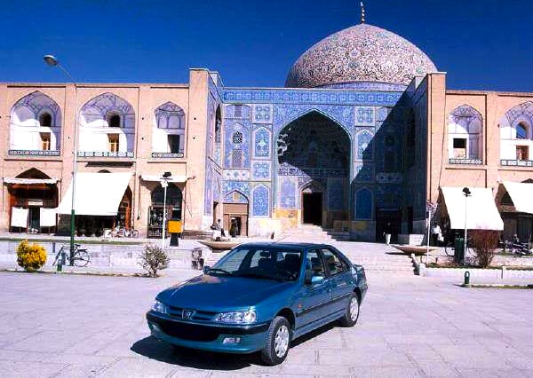 Peugeot Pars Iran Khordad 1392