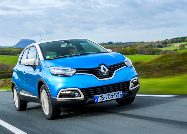 Renault Captur Bulgaria June 2015