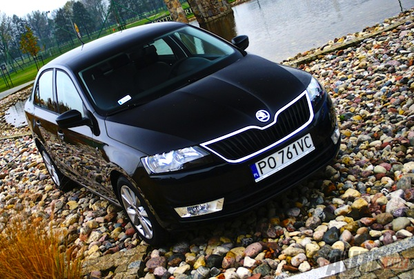 Skoda Rapid Ukraine June 2013. Picture courtesy of autokult.pl