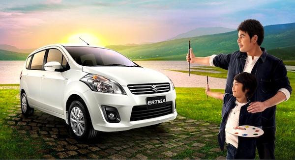 Suzuki Ertiga Indonesia June 2013b