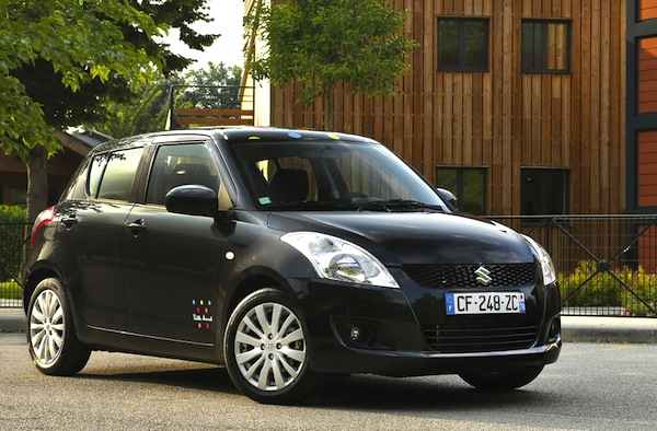 Suzuki Swift Iceland June 2013. Picture courtesy of L'Argus