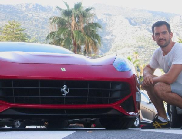 Ferrari F12 Berlinetta Monaco August 2013