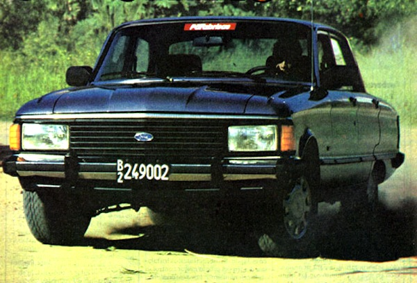 Ford Falcon Argentina 1990. Picture courtesy of testdelayer.com.ar