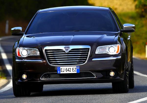 Lancia Thema Italy July 2013